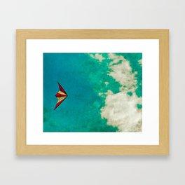 Kite-tastic Framed Art Print