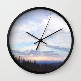 Landscape & Clouds Wall Clock
