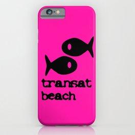 Transat beach iPhone Case