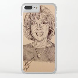 Gayle Clear iPhone Case