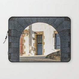 The Arch and the House Laptop Sleeve