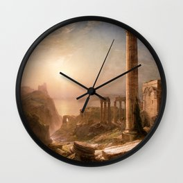 Frederic Edwin Church - Syria by the Sea - Hudson River School Oil Painting Wall Clock