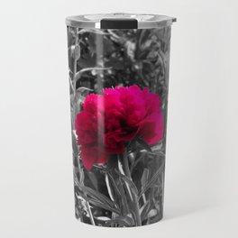 Pop of Color Flower Travel Mug