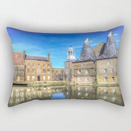 Three Mills Bow London Rectangular Pillow