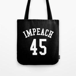 IMPEACH 45 (Black & White) Tote Bag
