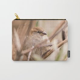 sparrow bird in the tress Carry-All Pouch