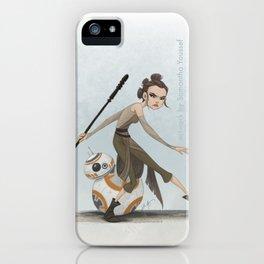 Rey & BB-8 iPhone Case