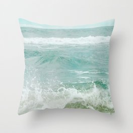 The Big Blue Throw Pillow