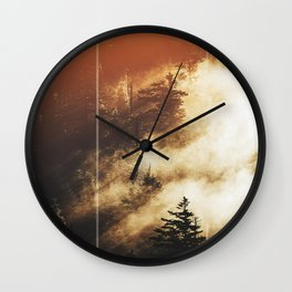 The Woods Have Secrets Wall Clock