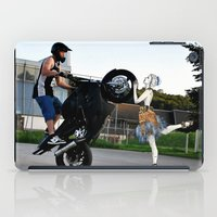 moto iPad Cases featuring moto vs dance by CokecinL