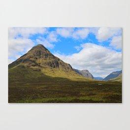 Highland Green Canvas Print