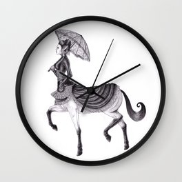 Victorian Centaur Wall Clock