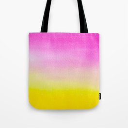 Abstract painting in modern fresh colors Tote Bag