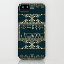 Victorian Notebook 2 iPhone Case