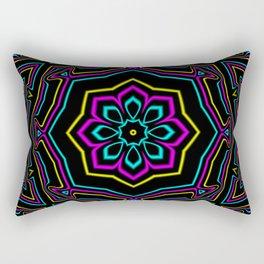 CYMK Kaleidoscope Rectangular Pillow