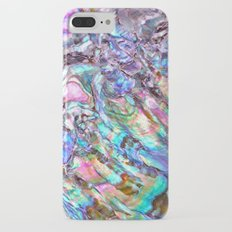 Shimmery Rainbow Abalone Mother of Pearl iPhone 7 Plus Slim Case