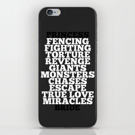 Princess Bride iPhone & iPod Skin