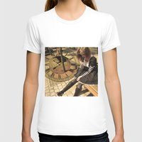 clockwork T-shirts featuring Clockwork lady by Catherine Mitchell