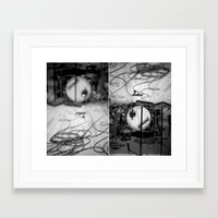 drums Framed Art Prints featuring drums by Shayna Batya