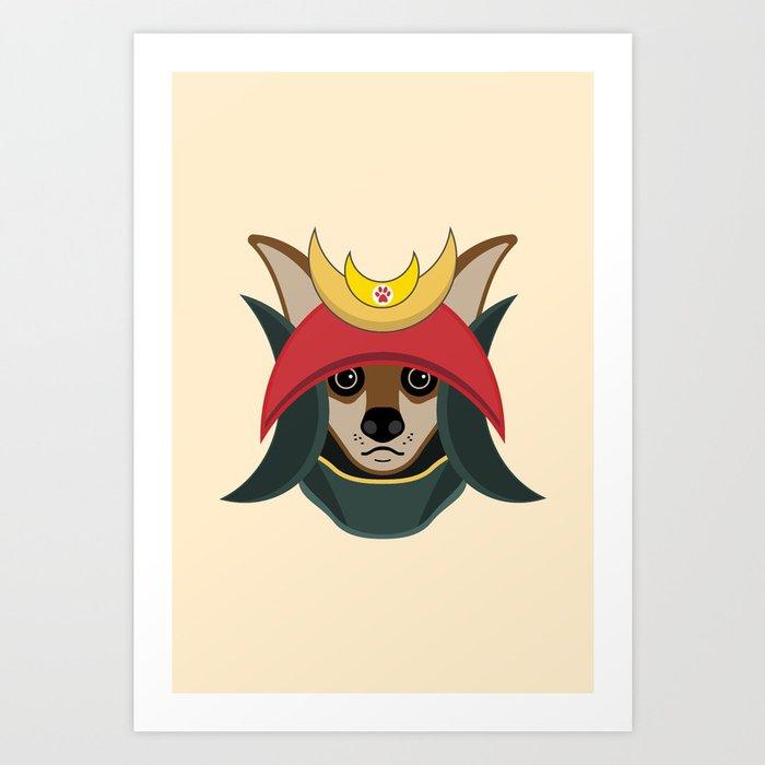 Daimyo Dog Art Print