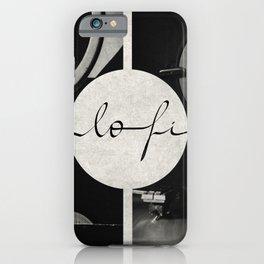 Lo-Fi // Analog Zine iPhone Case