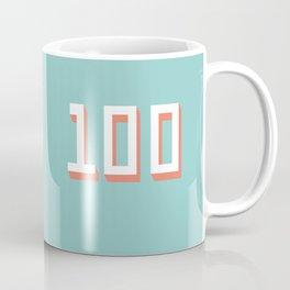 The 100 Coffee Mug