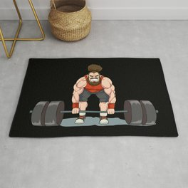 Weightlifting | Fitness Workout Rug