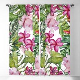 Tropical Garden 3 Blackout Curtain