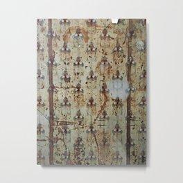 Pooley Street Pattern No. 1 Metal Print