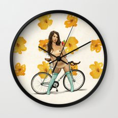 One Bite and All Your Dreams Will Come True Wall Clock