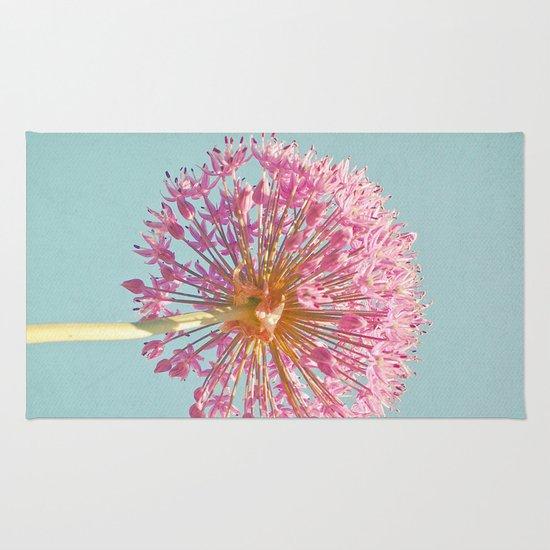 Pink Allium Rug
