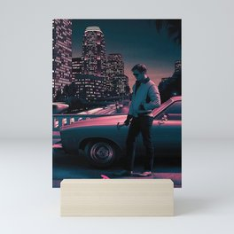 Drive Movie Vintage Mini Art Print