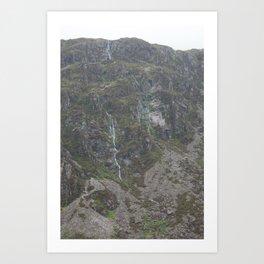 Wales Landscape 14 Cader Idris Art Print