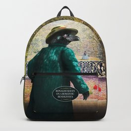 Ronaldo Raven on his way to a Romantic Rendezvous Backpack