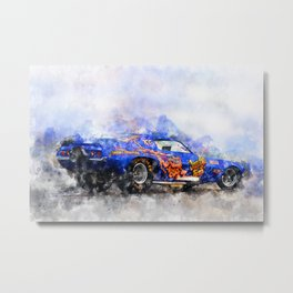 Jim Liberman, Jungle Jim Metal Print