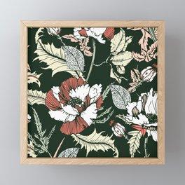 Autumnal flowering of poppies II Framed Mini Art Print