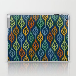 Autumn leaves pattern II Laptop & iPad Skin