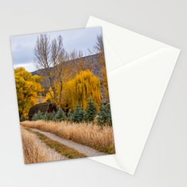Colorado Little Red Barn Stationery Cards