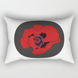 Poppy time Rectangular Pillow