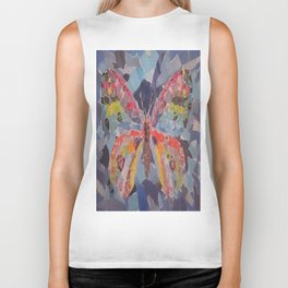 Beautiful Butterfly print  Biker Tank