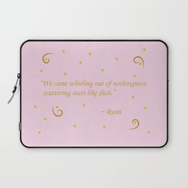 Whirling out of nothingness Laptop Sleeve