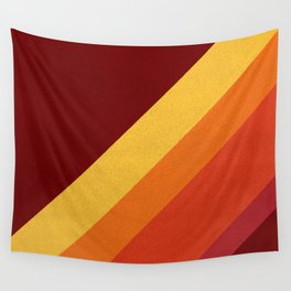 Retro 70s Color Palette II Wall Tapestry