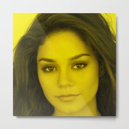 Vanessa Hudgens - Celebrity (Florescent Color Technique) Metal Print