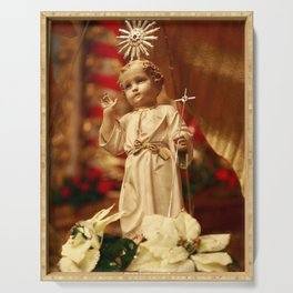 Baby Jesus Serving Tray
