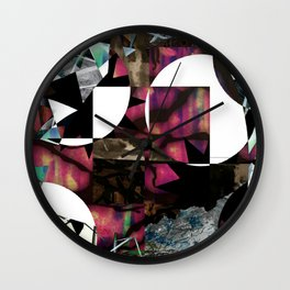 Picking Up the Pieces Wall Clock