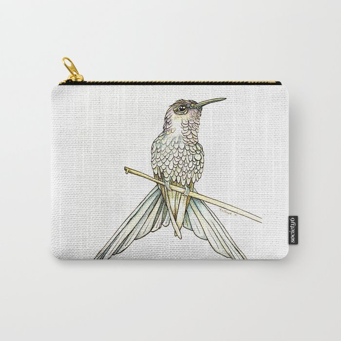 Swallowtail Hummingbird Carry-All Pouch