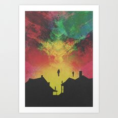 ABDUCTED Art Print