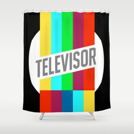 Televisor  Shower Curtain