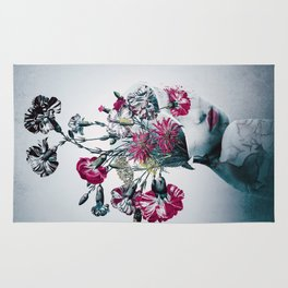 The spirit of flowers Rug