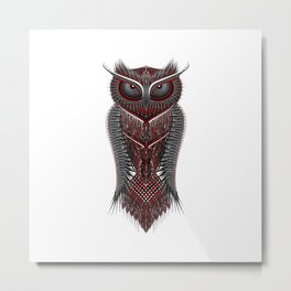 metal owl Metal Print
